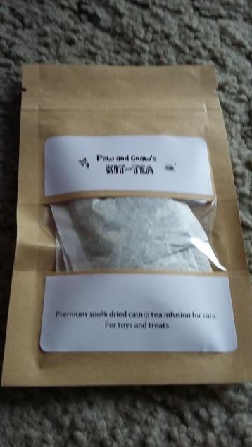 Paw and Gnaw Cat Nip Tea Bags