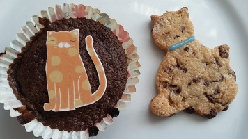 Kitty Cupcakes and Cookies!